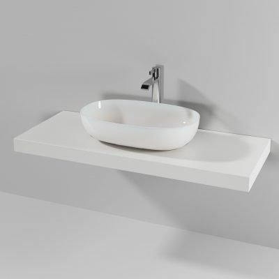Piano lavabo appoggio Loft